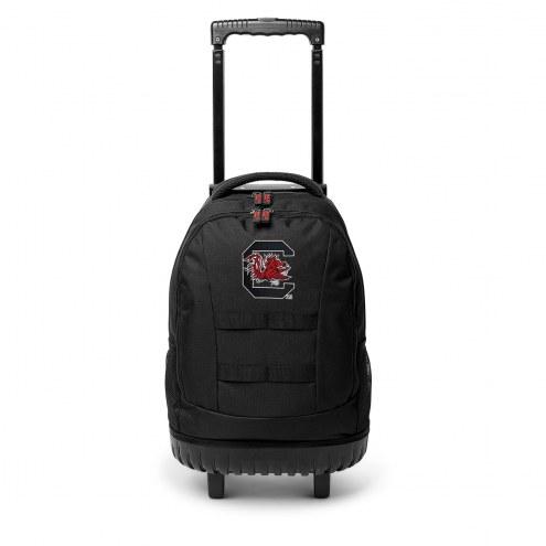 NCAA South Carolina Gamecocks Wheeled Backpack Tool Bag