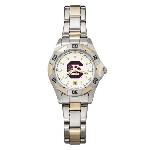 South Carolina Gamecocks Women's All-Pro Two-Tone Watch