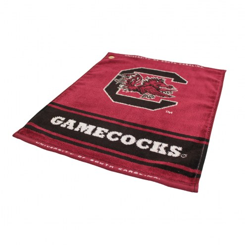 South Carolina Gamecocks Woven Golf Towel