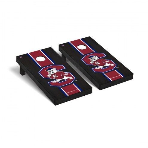 South Carolina State Bulldogs Onyx Stained Cornhole Game Set