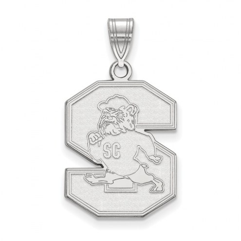 South Carolina State Bulldogs Sterling Silver Large Pendant