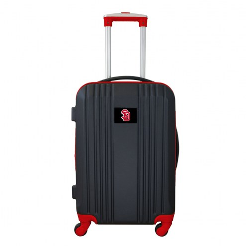 "South Dakota Coyotes 21"" Hardcase Luggage Carry-on Spinner"