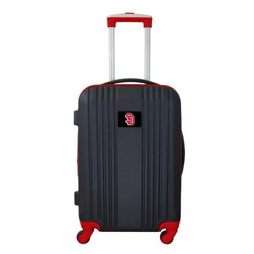 """South Dakota Coyotes 21"""" Hardcase Luggage Carry-on Spinner"""