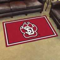 South Dakota Coyotes 4' x 6' Area Rug
