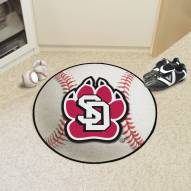 South Dakota Coyotes Baseball Rug