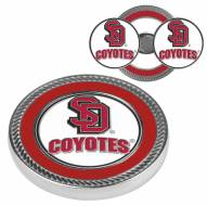 South Dakota Coyotes Challenge Coin with 2 Ball Markers