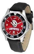 South Dakota Coyotes Competitor AnoChrome Men's Watch - Color Bezel