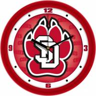 South Dakota Coyotes Dimension Wall Clock