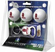South Dakota Coyotes Golf Ball Gift Pack with Key Chain
