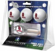 South Dakota Coyotes Golf Ball Gift Pack with Kool Tool