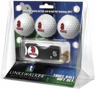 South Dakota Coyotes Golf Ball Gift Pack with Spring Action Divot Tool