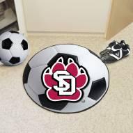 South Dakota Coyotes Soccer Ball Mat