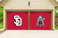 South Dakota Coyotes Split Garage Door Banner