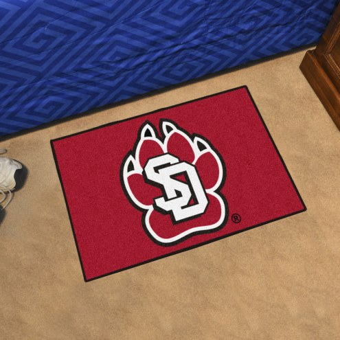 South Dakota Coyotes Starter Rug