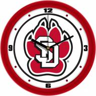 South Dakota Coyotes Traditional Wall Clock