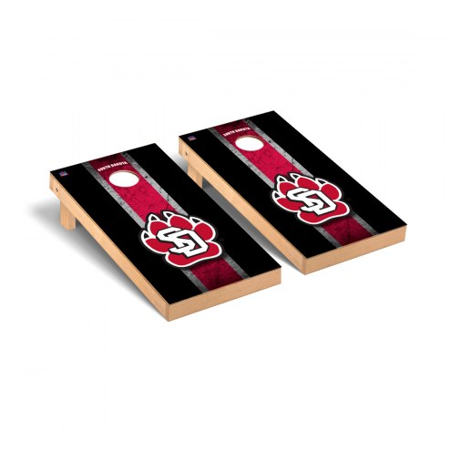 South Dakota Coyotes Vintage Cornhole Game Set