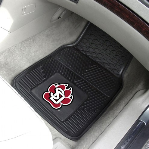 South Dakota Coyotes Vinyl 2-Piece Car Floor Mats