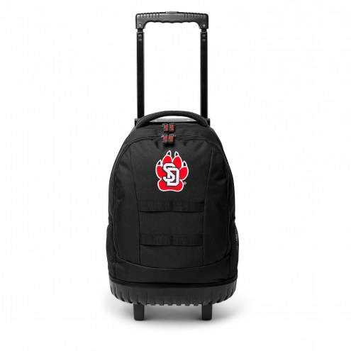 NCAA South Dakota Coyotes Wheeled Backpack Tool Bag