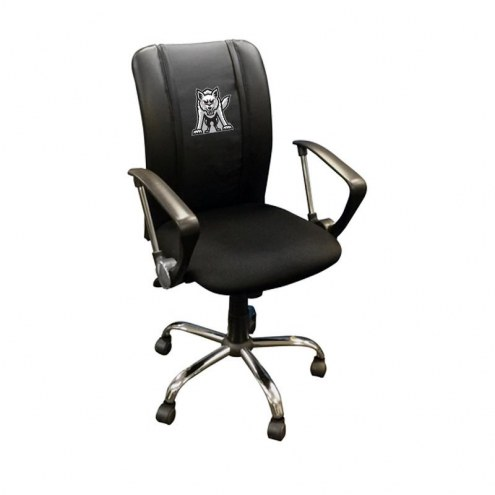South Dakota Coyotes XZipit Curve Desk Chair with Emblem Logo