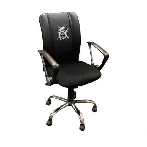South Dakota Coyotes XZipit Curve Desk Chair with Emblem Logo