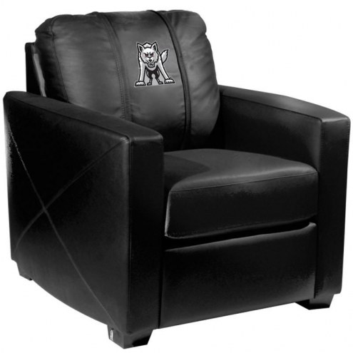South Dakota Coyotes XZipit Silver Club Chair with Emblem Logo