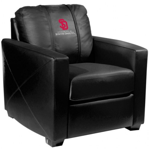 South Dakota Coyotes XZipit Silver Club Chair