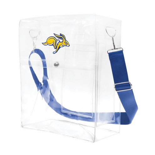 South Dakota State Jackrabbits Clear Ticket Satchel