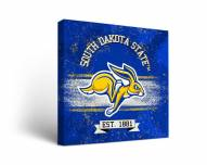 South Dakota State Jackrabbits Banner Canvas Wall Art