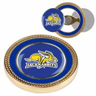 South Dakota State Jackrabbits Challenge Coin with 2 Ball Markers