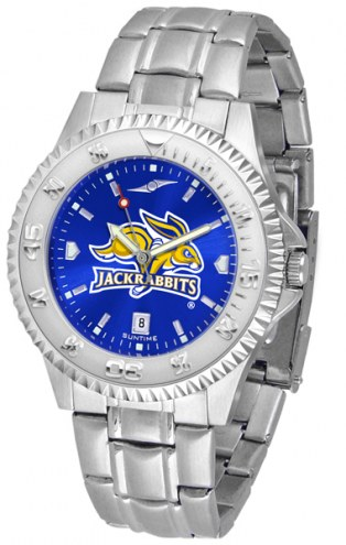 South Dakota State Jackrabbits Competitor Steel AnoChrome Men's Watch