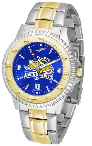 South Dakota State Jackrabbits Competitor Two-Tone AnoChrome Men's Watch