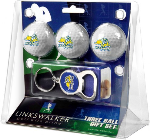 South Dakota State Jackrabbits Golf Ball Gift Pack with Key Chain