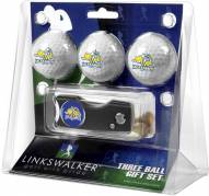 South Dakota State Jackrabbits Golf Ball Gift Pack with Spring Action Divot Tool