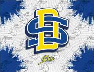 South Dakota State Jackrabbits Logo Canvas Print