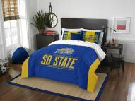 South Dakota State Jackrabbits Modern Take Full/Queen Comforter Set
