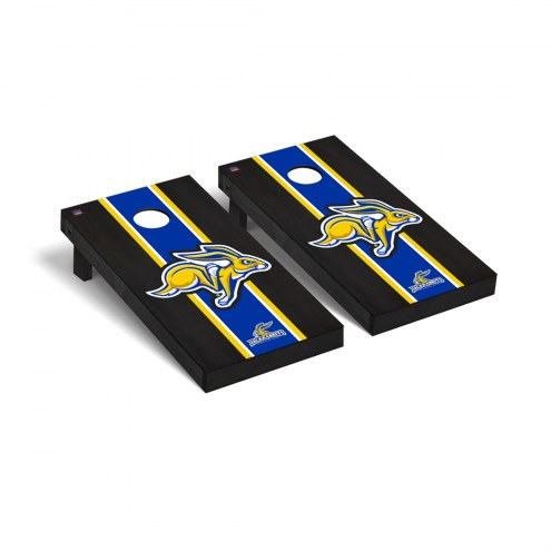 South Dakota State Jackrabbits Onyx Stained Cornhole Game Set