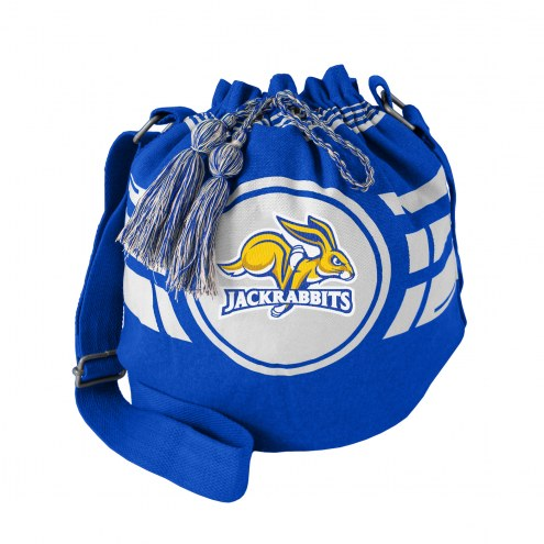 South Dakota State Jackrabbits Ripple Drawstring Bucket Bag