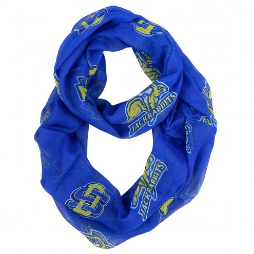 South Dakota State Jackrabbits Sheer Infinity Scarf