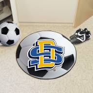 South Dakota State Jackrabbits Soccer Ball Mat