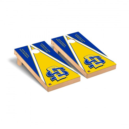 South Dakota State Jackrabbits Triangle Cornhole Game Set