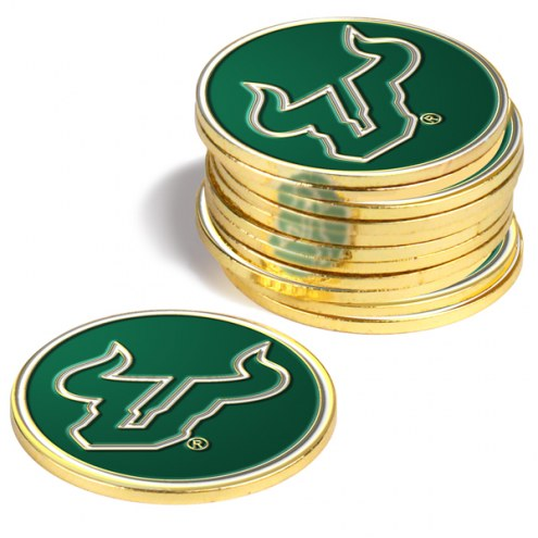 South Florida Bulls 12-Pack Golf Ball Markers