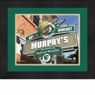 South Florida Bulls 13 x 16 Personalized Framed Sports Pub Print