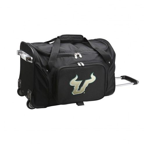 "South Florida Bulls 22"" Rolling Duffle Bag"