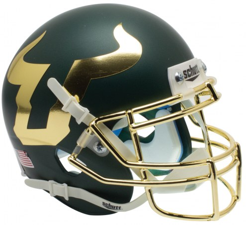 South Florida Bulls Alternate 4 Schutt XP Authentic Full Size Football Helmet