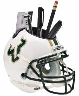 South Florida Bulls Alternate Schutt Football Helmet Desk Caddy