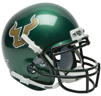 South Florida Bulls Alternate Schutt Mini Football Helmet