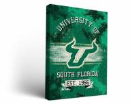 South Florida Bulls Banner Canvas Wall Art