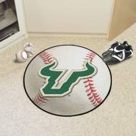 South Florida Bulls Baseball Rug
