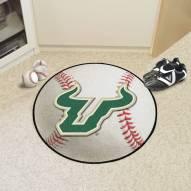South Florida Bulls Baseball Rug