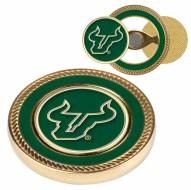 South Florida Bulls Challenge Coin with 2 Ball Markers